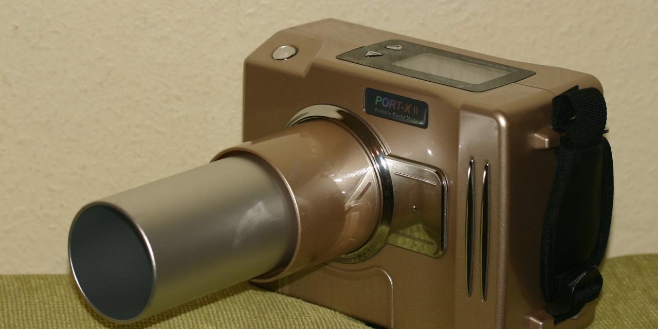 Neues Dentalröntgengerät